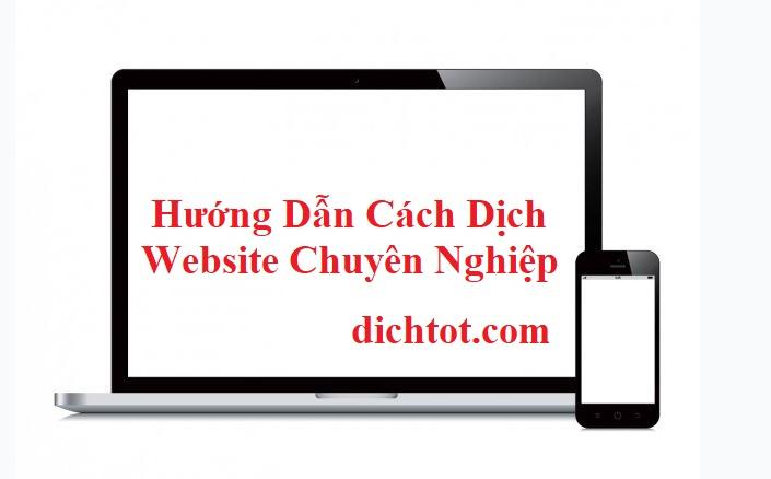 cach-dich-website-chuyen-nghiep